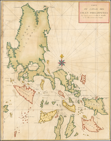 82-Philippines Map By George Anson