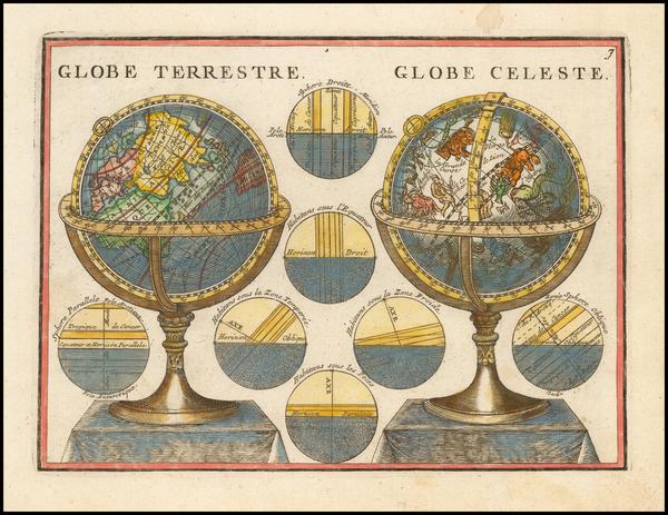 9-Celestial Maps Map By Jacques Chiquet