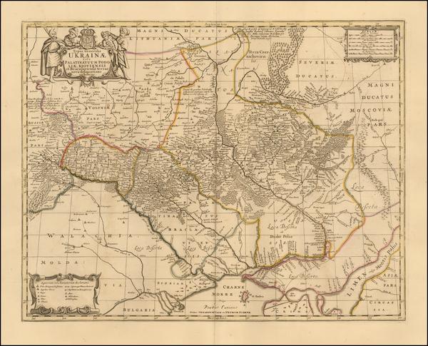 85-Russia and Ukraine Map By Peter Schenk  &  Gerard Valk
