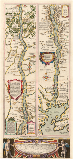 44-Russia and Ukraine Map By Willem Janszoon Blaeu