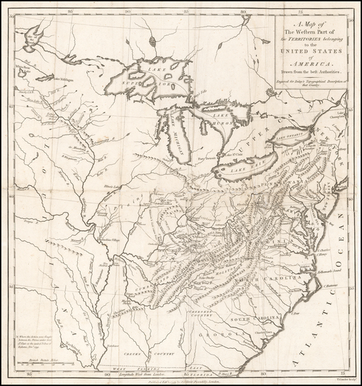 15-United States, Mid-Atlantic, South, Southeast and Midwest Map By Thomas Conder