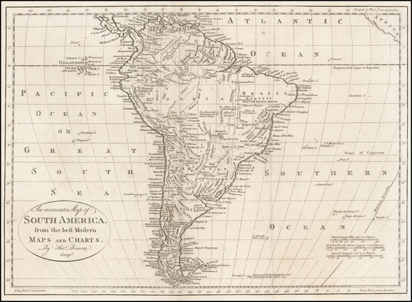 50-South America Map By Thomas Bowen