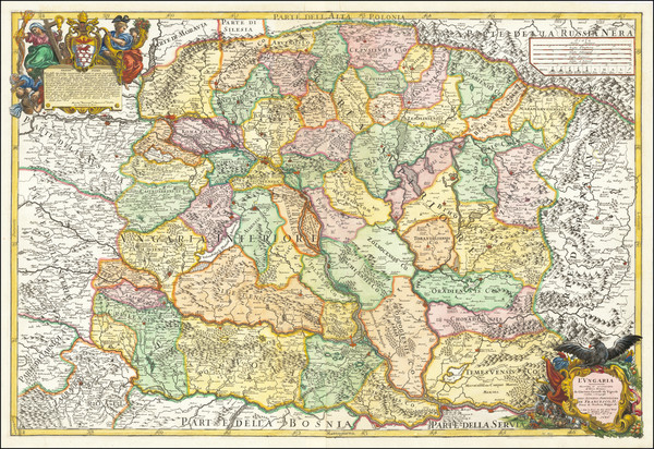 60-Hungary and Balkans Map By Giacomo Giovanni Rossi