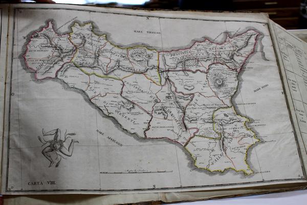 46-Italy Map By Mario Coltraro