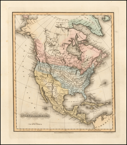 9-North America Map By Fielding Lucas Jr.