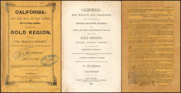 14-California, San Francisco & Bay Area and Fair Map By J. Ely Sherwood