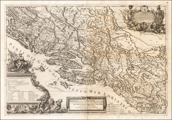 26-Balkans Map By Giacomo Giovanni Rossi