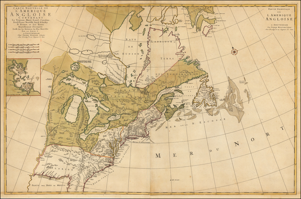 14-United States, North America and Canada Map By Pieter Mortier