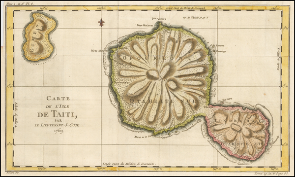 55-Other Pacific Islands Map By James Cook