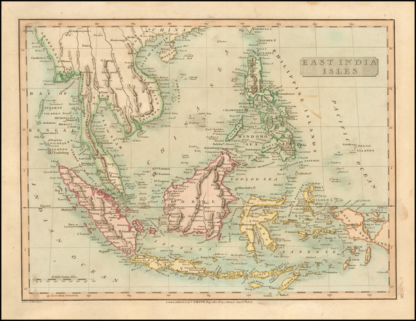 Southeast Asia and Philippines Map By Charles Smith