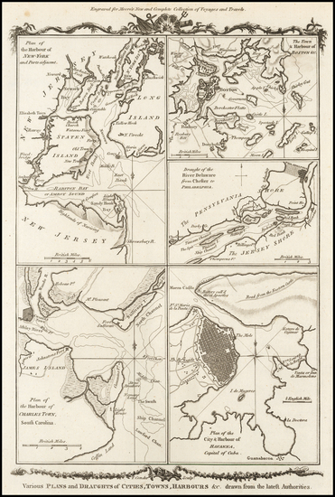 99-New England, Southeast, North America and Boston Map By Thomas Conder