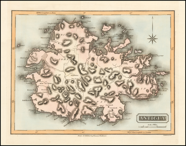 40-Other Islands Map By Fielding Lucas Jr.