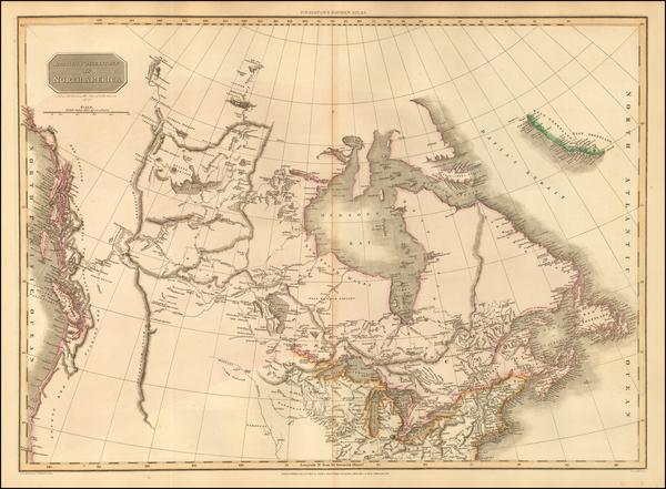 1-Polar Maps, Midwest, Alaska and Canada Map By John Pinkerton
