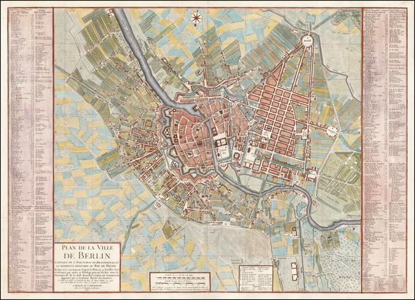 42-Germany Map By Samuel Graf von Schmettau