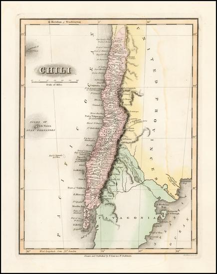 48-Chile Map By Fielding Lucas Jr.