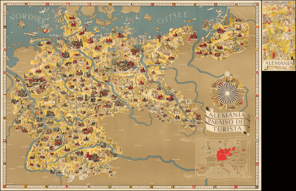 74-Germany Map By Riemer