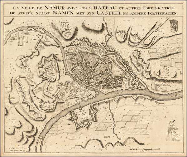 10-Belgium Map By Frederick De Wit