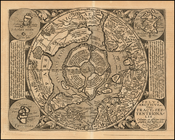 43-Northern Hemisphere and Polar Maps Map By Matthias Quad