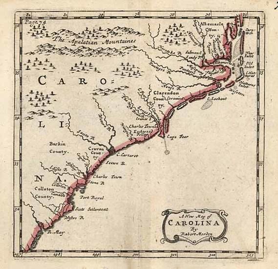 15-Southeast Map By Robert Morden