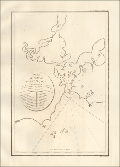 77-San Francisco Map By Jean Francois Galaup de La Perouse