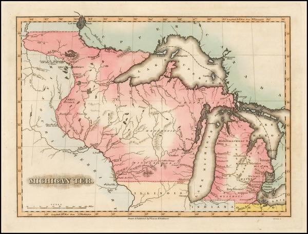 62-Midwest Map By Fielding Lucas Jr.
