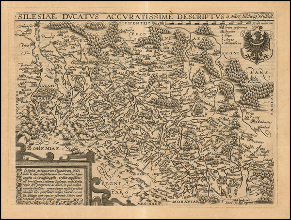 37-Poland Map By Matthias Quad / Johann Bussemachaer