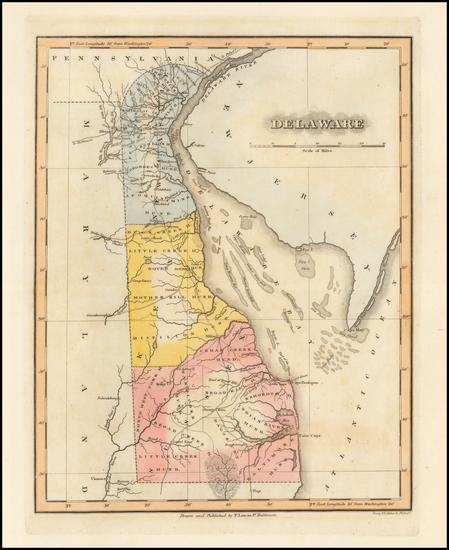 65-Mid-Atlantic Map By Fielding Lucas Jr.