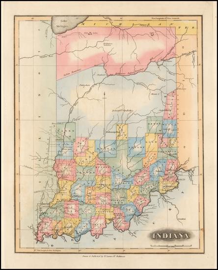 22-Midwest Map By Fielding Lucas Jr.