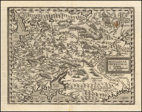 20-Russia and Ukraine Map By Matthias Quad
