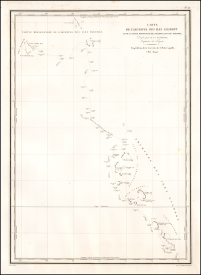 23-Oceania and Other Pacific Islands Map By L.I. Duperrey