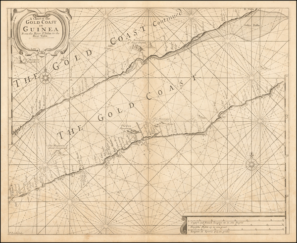 West Africa Map By Samuel Thornton