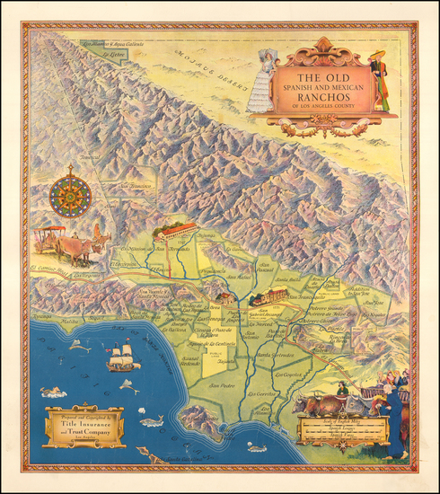 81-Los Angeles Map By Title Insurance & Trust Company  &  Gerald A. Eddy