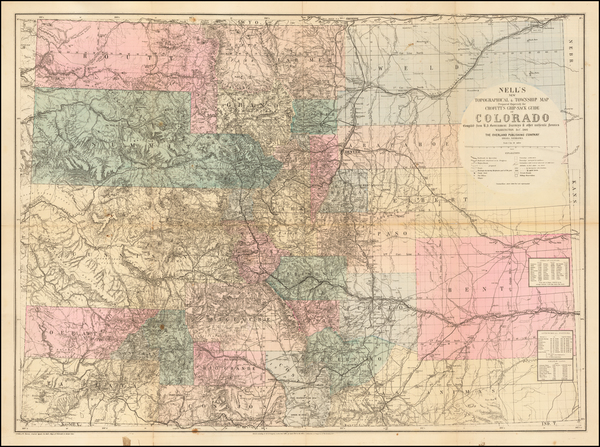 38-Colorado and Colorado Map By Louis Nell