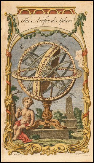 14-Curiosities and Celestial Maps Map By William Guthrie