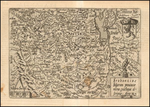 100-Belgium Map By Matthias Quad / Janus Bussemacher