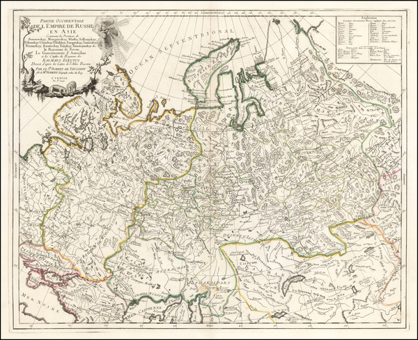 Russia and Central Asia & Caucasus Map By Paolo Santini