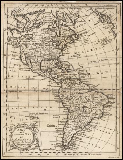 43-America Map By John Gibson