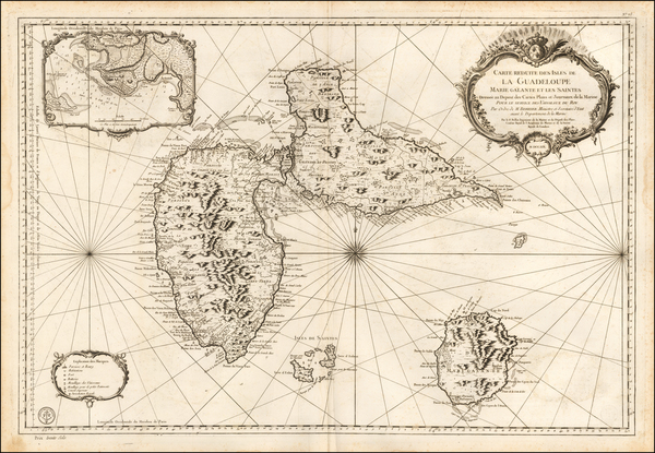 64-Other Islands Map By Jacques Nicolas Bellin