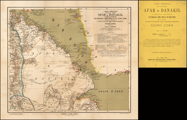70-Arabian Peninsula and East Africa Map By Guido Corda