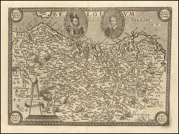 58-Belgium Map By Matthias Quad / Janus Bussemacher