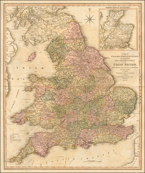 75-England Map By William Faden