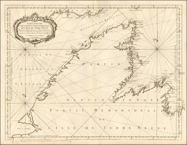 8-Canada Map By Depot de la Marine