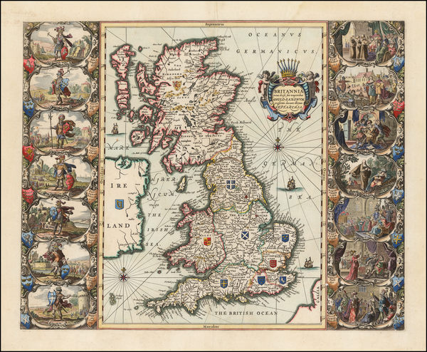 48-British Isles and England Map By Jan Jansson