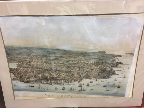 72-San Francisco & Bay Area Map By Charles   Braddock Gifford