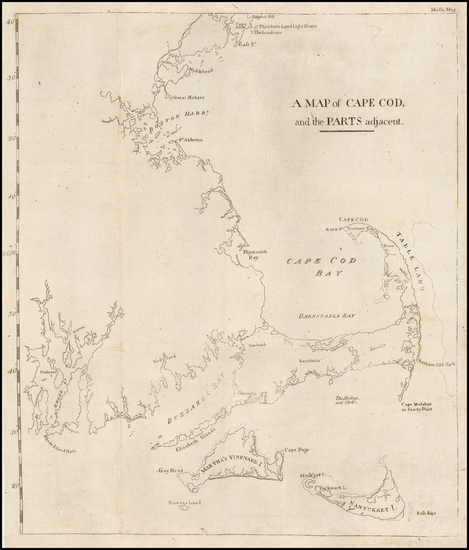 19-Massachusetts Map By Isaiah Thomas  &  Ebenezer T. Andrews