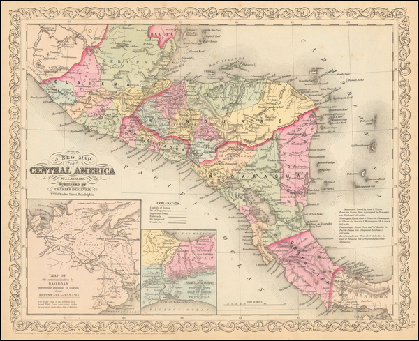 30-Central America Map By Charles Desilver