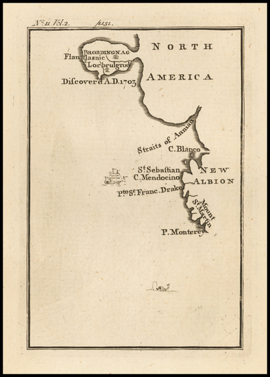 35-Pacific Northwest and California Map By Jonathan Swift