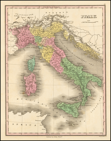 25-Italy Map By Anthony Finley