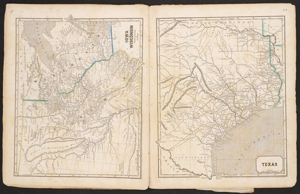73-Atlases Map By Sidney Morse  &  Samuel Breese