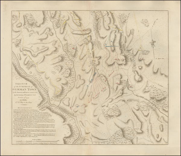 46-Mid-Atlantic and American Revolution Map By William Faden / John Hills